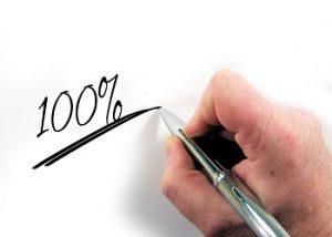 100 procent bonus